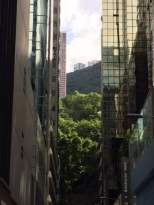 View from Queen's Road in Wan Chai