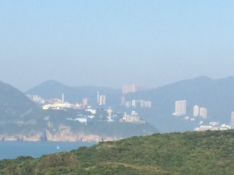 If you look closely at the building at the top in the centre, that is our apartment complex. This was taken from Lamma Island which we explored last weekend.