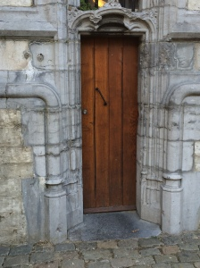 The carillonneur's entrance at St. Rombouts