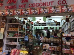 I love this shop in Wan Chai with its spices and sauces and all kids of goodies tucked away on the shelves. The owner's good English helps too!