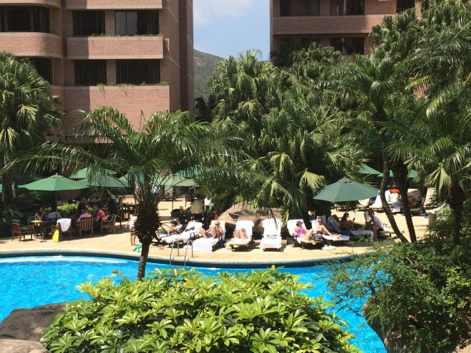 Our pool at Hong Kong Parkview