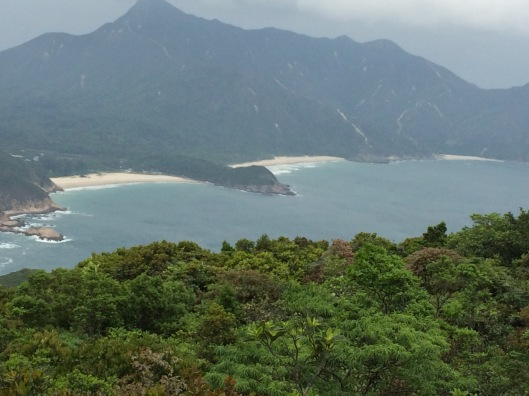 A view from Sai Wan Shan Trail in Sai Kung East Country Park, one of hundreds of amazing hiking trails that are easily accessible here
