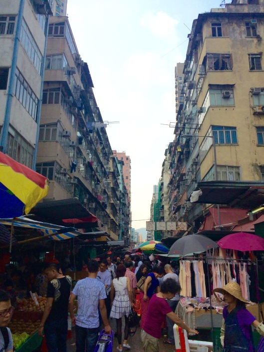 Canton Road Market in Mong Kok