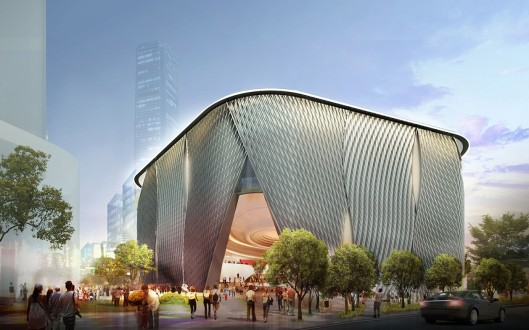 The Xiqu Centre -- coming soon to West Kowloon Cultural District