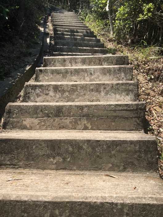 Steps on the Twin Peaks and 1,000 Steps Trail, Hong Kong