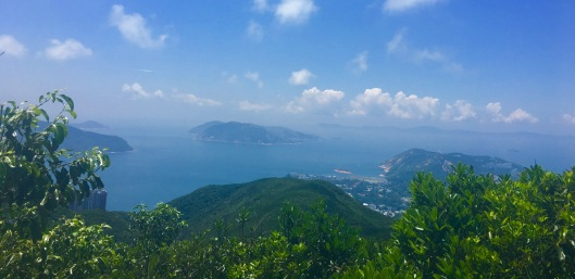 View from Twin Peaks, Hong Kong