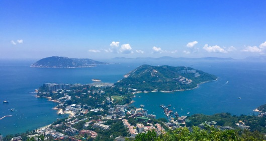 View of Stanley from Twin Peaks, Hong Kong